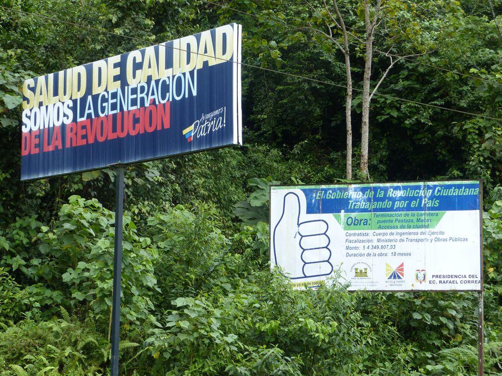 La révolution Equatorienne
