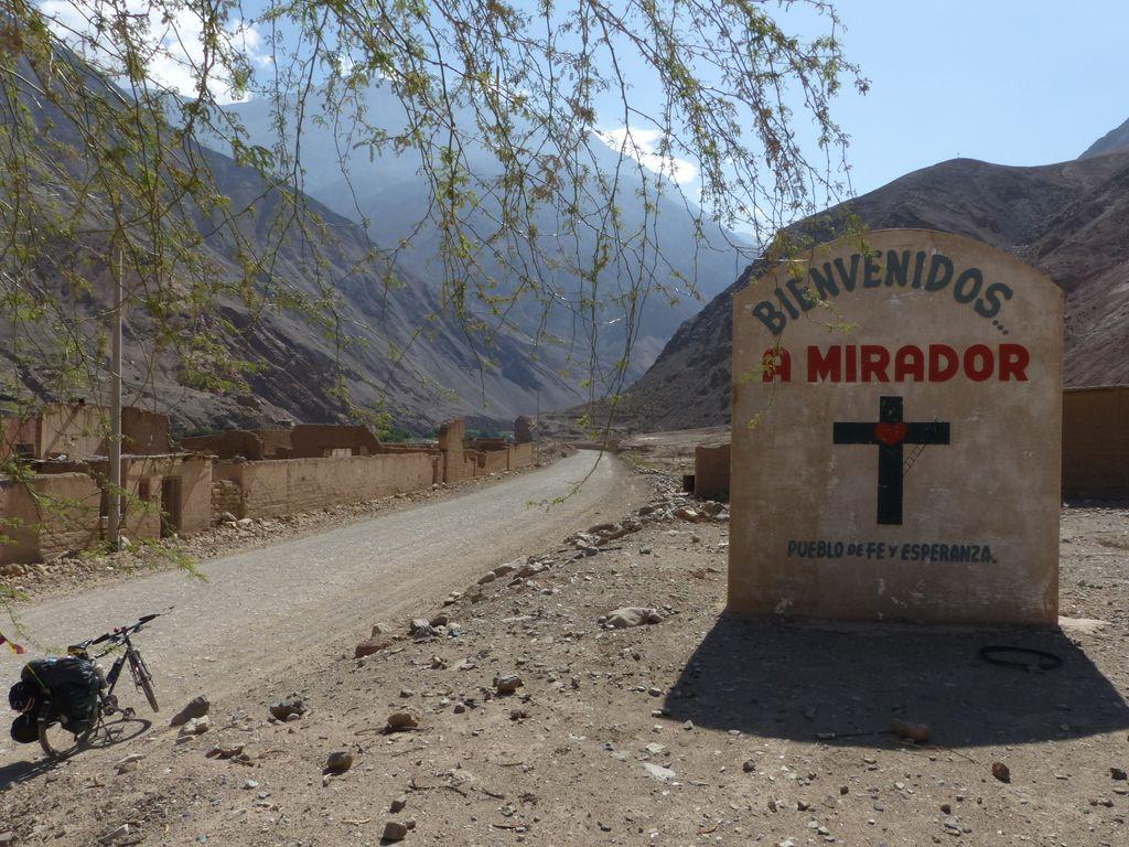 Mirador, village où espoir et foi ont définitivement disparu suite au tremblement de terre de mai 1970