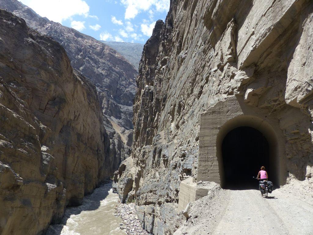 la route des tunnels