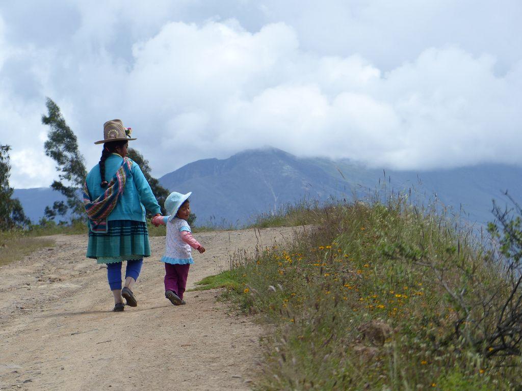 Petits bouts de femmes andines