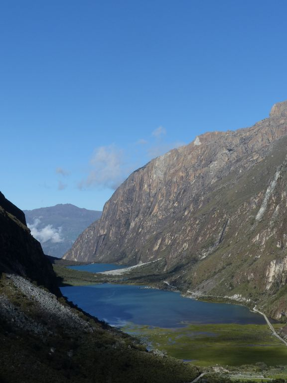 Les lacs glaciaires de Llanganuco