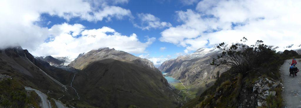 Panorama Llanganuco