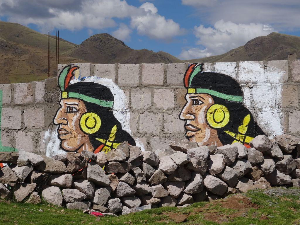 Votez l'inca dans la région de Cusco