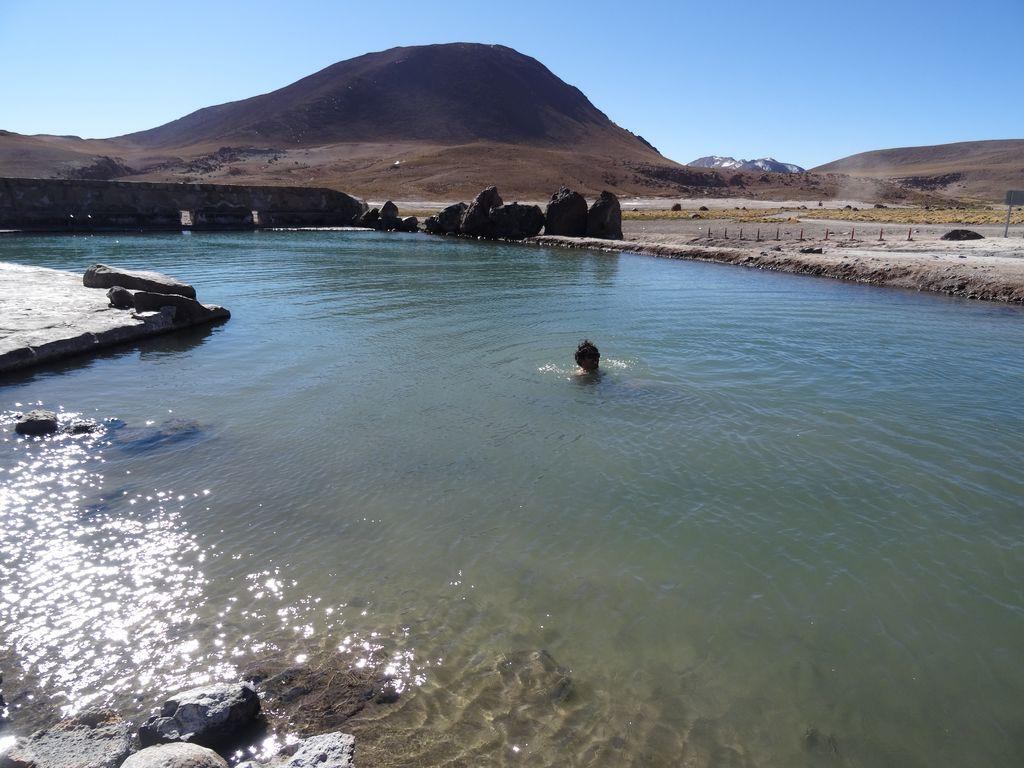 Petit bain volcanique