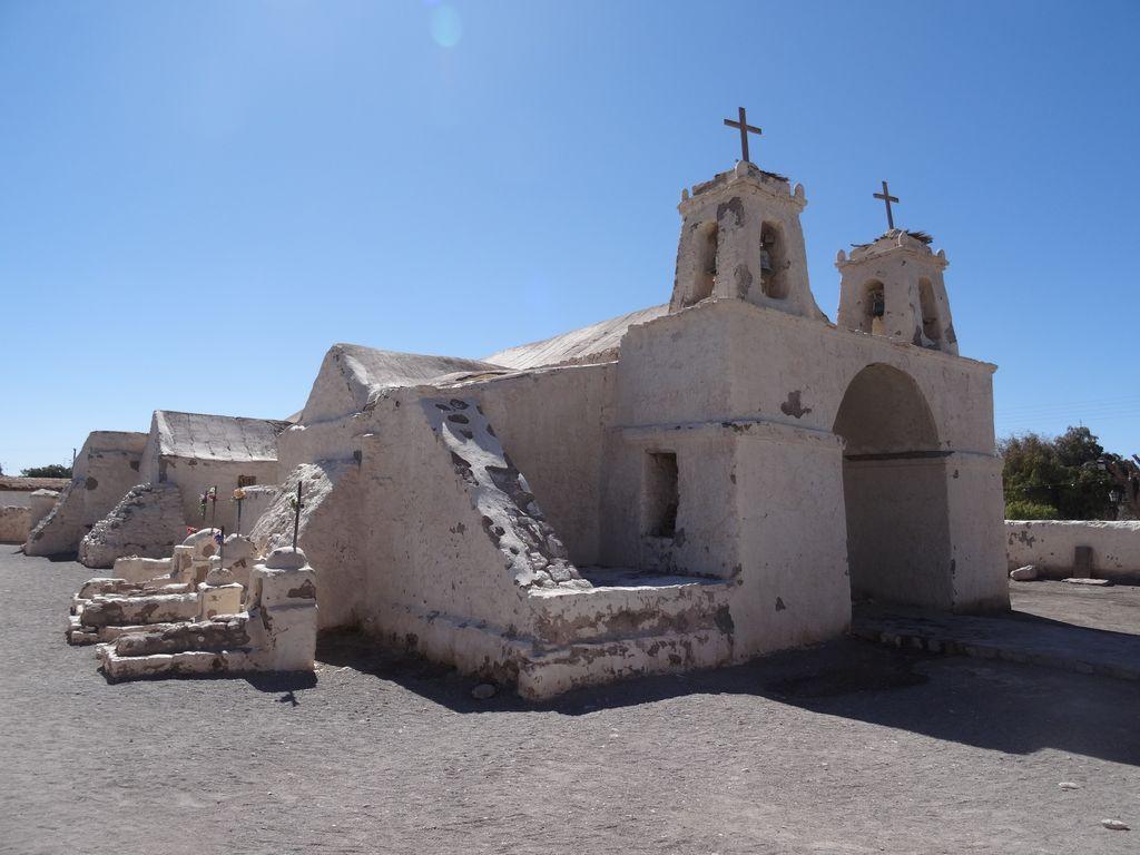 Fameuse église San Francisco de Chiu Chiu, la plus ancienne du Chili