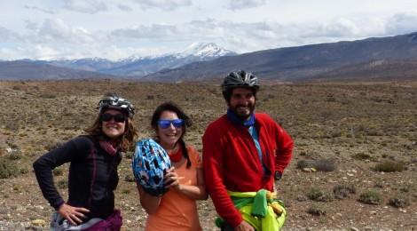 le trio en po-pause véli-vélo
