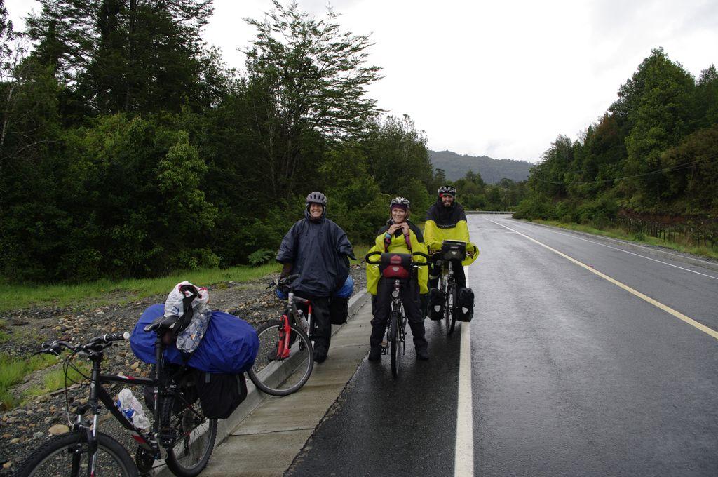 On vous avait prévenu que c'était humide la Carretera Austral