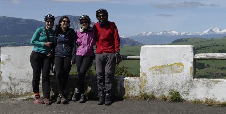 Plus que quelques kilomètres avant l'arrivée sur Coyhaique, terminus du périple des fifilles