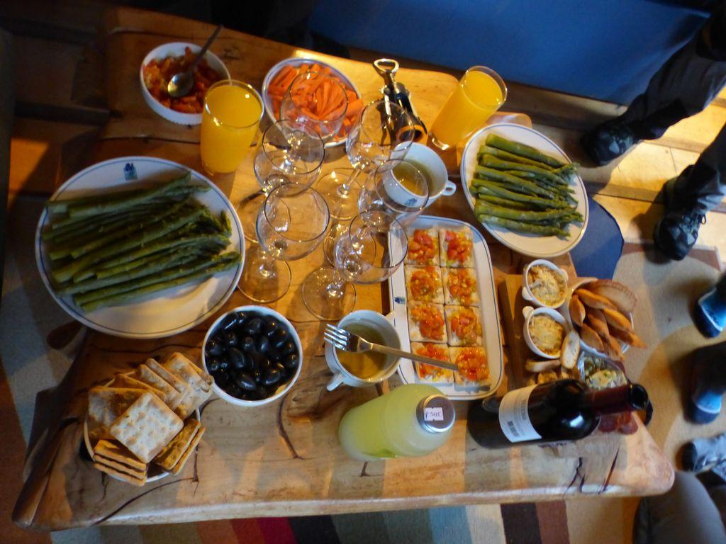 Une belle table d'anniversaire