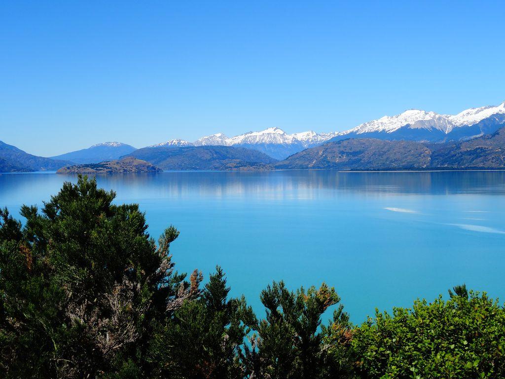 Jour parfait sur le lac General Carrera