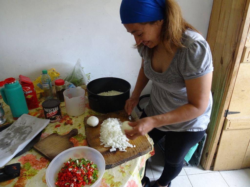 et de cuisine ! cours de confection d'empanadas