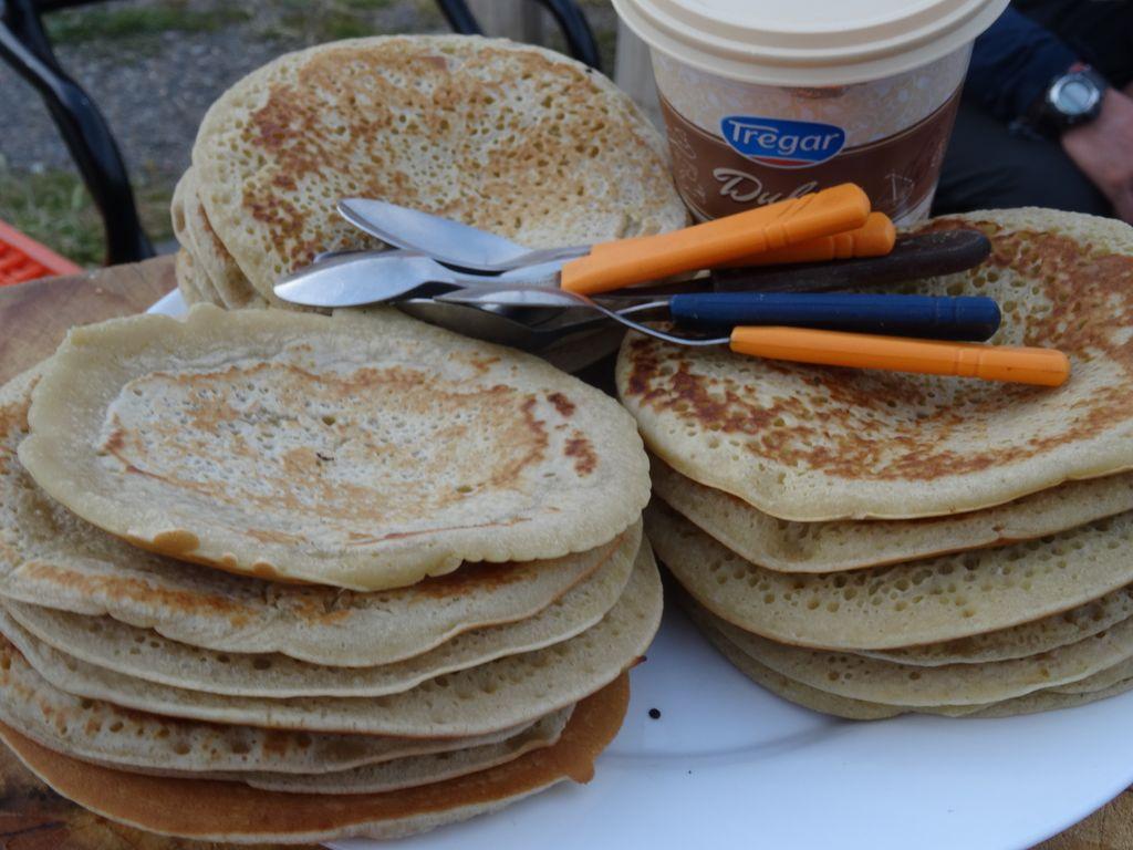 Session pancakes-dulce de leche