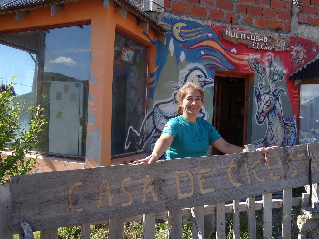 Flor et sa Casa de Ciclista Los Charitos