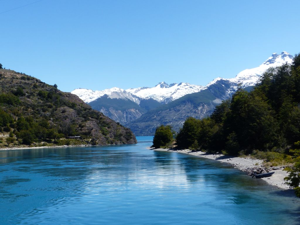 Embouchure du Lac General Carrera vers le Lac Bertrand, une pure merveille !