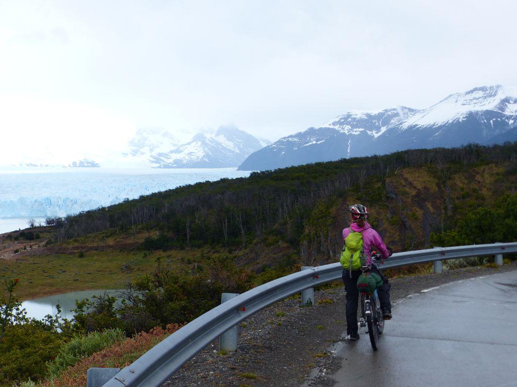 En approche du glacier et vue sur l'immensité blanche !