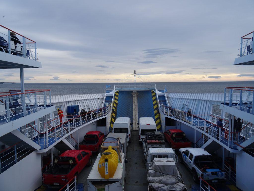 Navigation paisible sur le détroit de Magellan