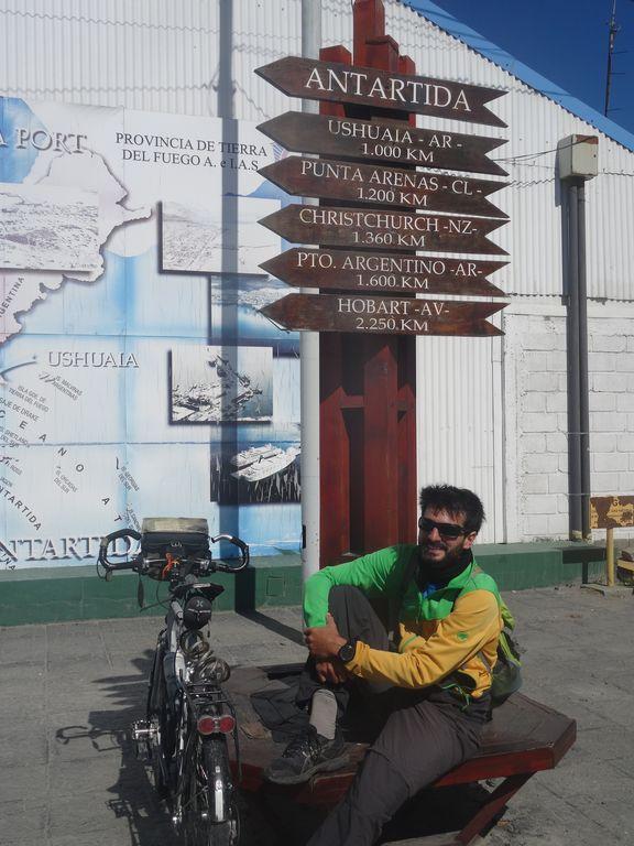 à 1000km à peine de l'Antarctique