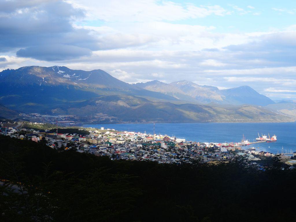 Vue panoramique d'Ushuaia