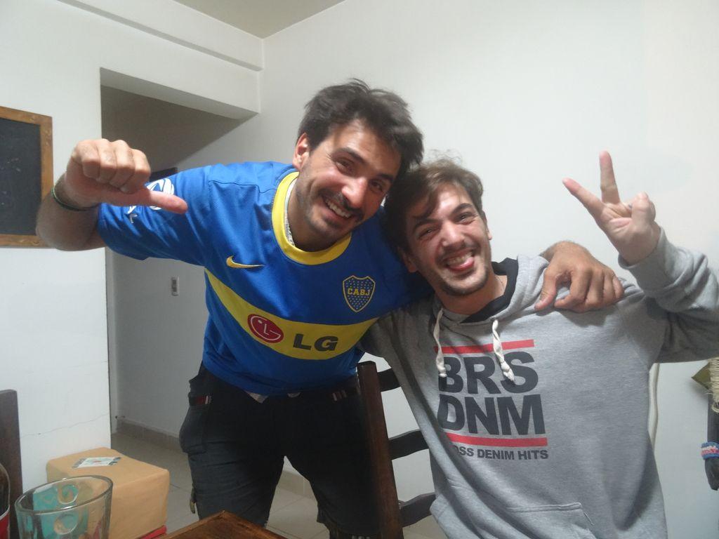 Regalo souvenir ! Vamos Boca ! Gracias Nico