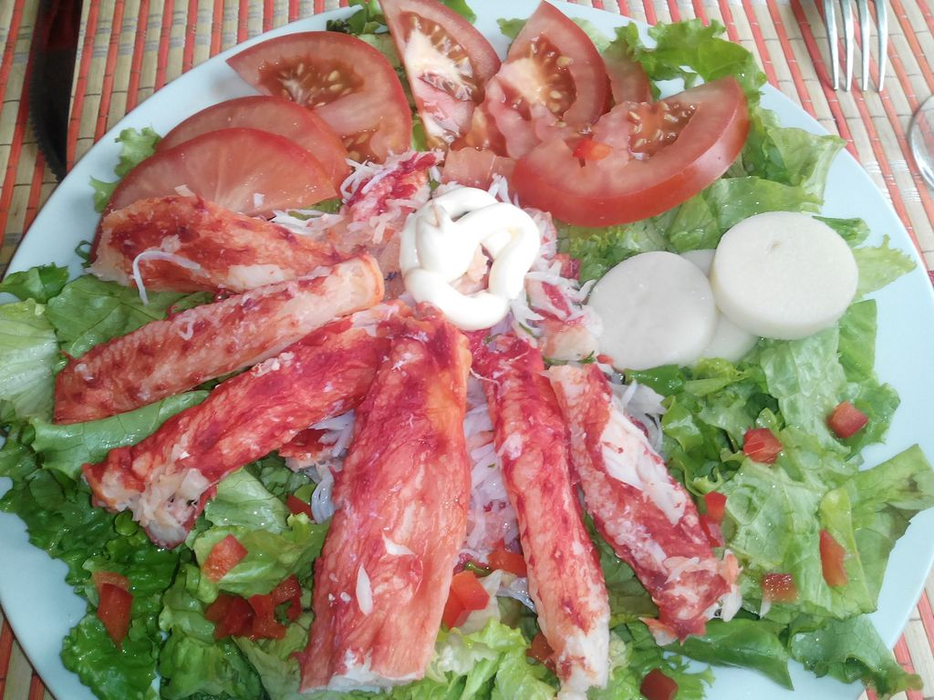 Centolla en salade