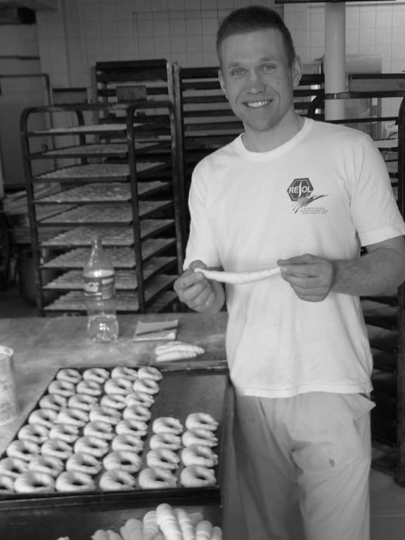 Sebastian le cyclo converti en boulanger