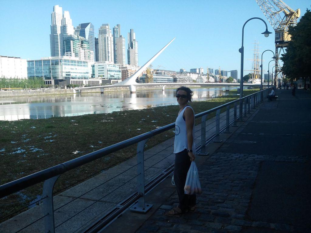 Puente de la Mujer Puerto Madero