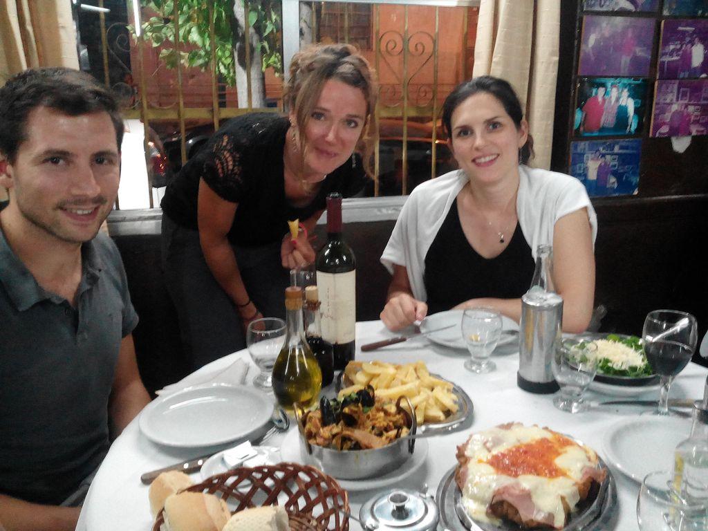 Resto avec Audrey et Julien