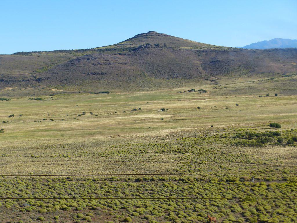 Pampa vue depuis les rails
