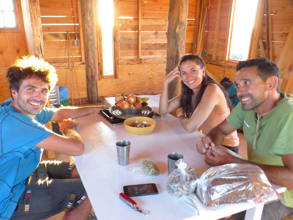 Dernier repas à El Doradillo avec Sergio et Mariana
