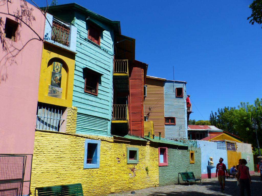 Quartier de la Boca populaire et typique