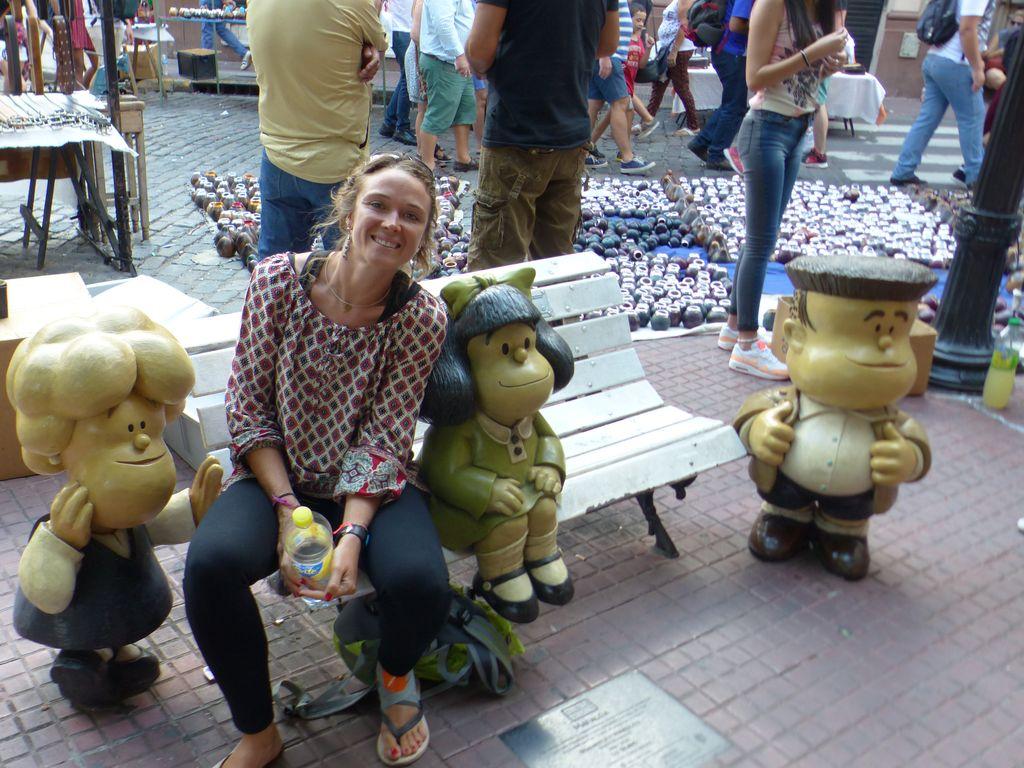 Juliet' avec la Mafalda