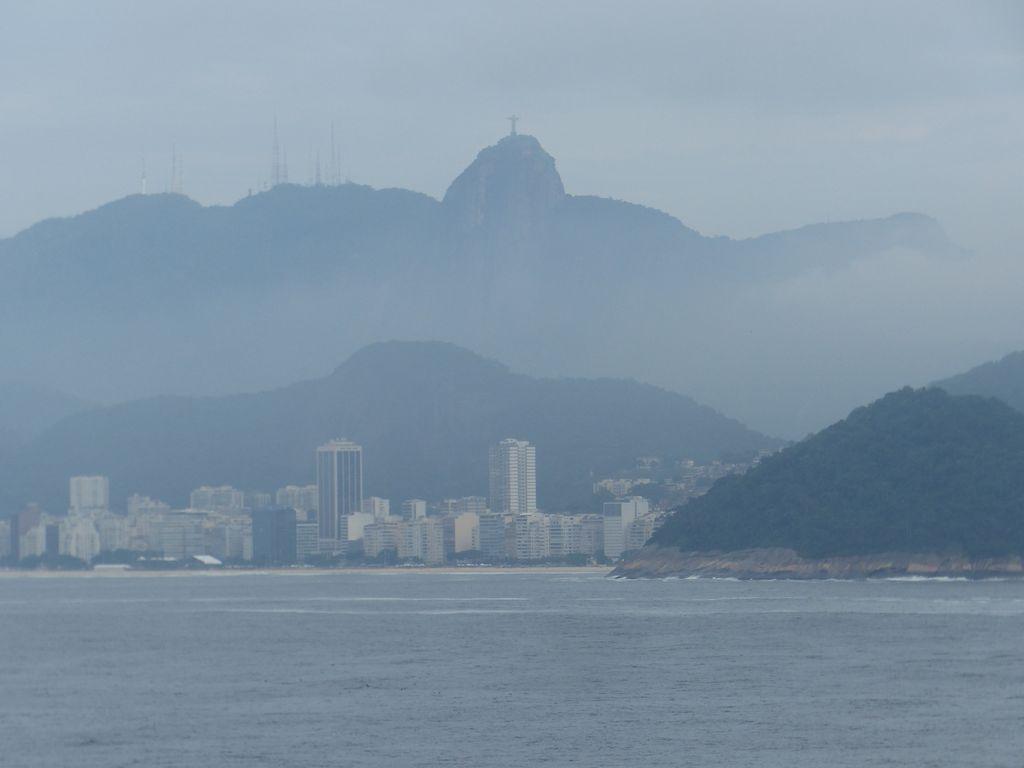 En approche de la baie de Rio