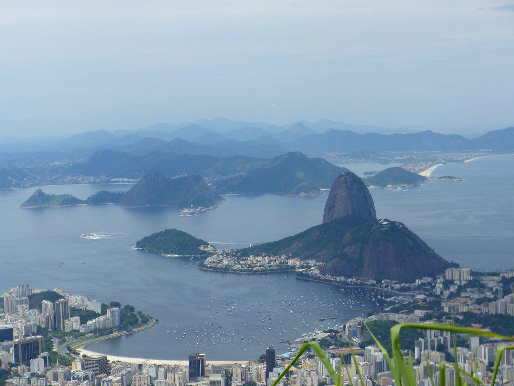 depuis les hauteurs du Corcovado