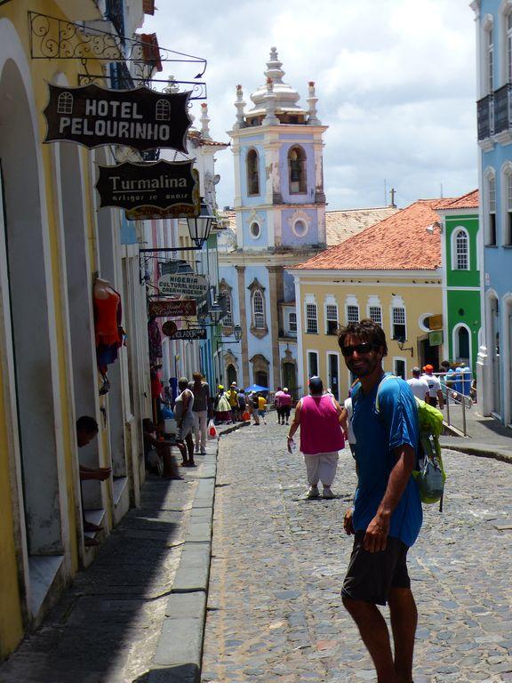 La colorée Salvador de Bahia